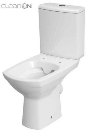 Kompakt WC 480 Carina New cleanon 010 3/5 bez deski K31-045 Cersanit